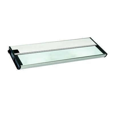 KCL Series I 13 Xenon Under Cabinet Bar Light Finish: Brushed Nickel