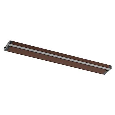 6U Series LED 30 Under Cabinet Bar Light Finish: Bronze