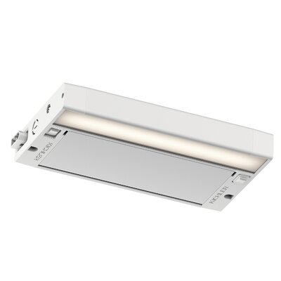 6U Series LED 8 Under Cabinet Bar Light Finish: White