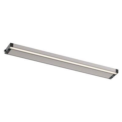 6U Series LED 30 Under Cabinet Bar Light Finish: Nickel