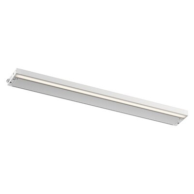 6U Series LED 30 Under Cabinet Bar Light Finish: White
