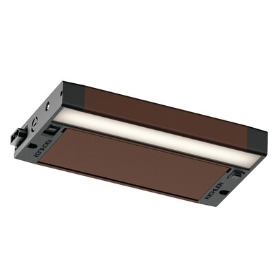 6U Series LED 8 Under Cabinet Bar Light Finish: Bronze