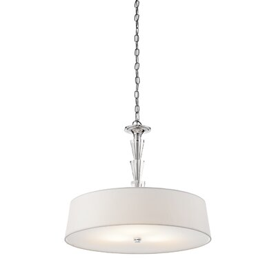 Brookefields 3-Light Drum Pendant