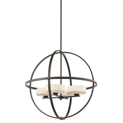 Olsay 4-Light Globe Pendant Finish: Olde Bronze
