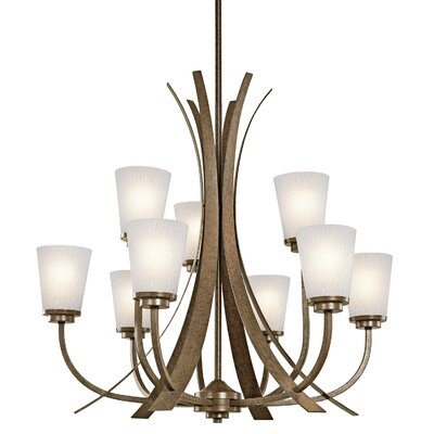 Coburn 9-Light Candle-Style Chandelier