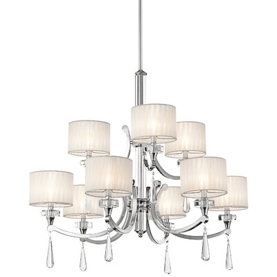 Austine 9-Light Drum Chandelier