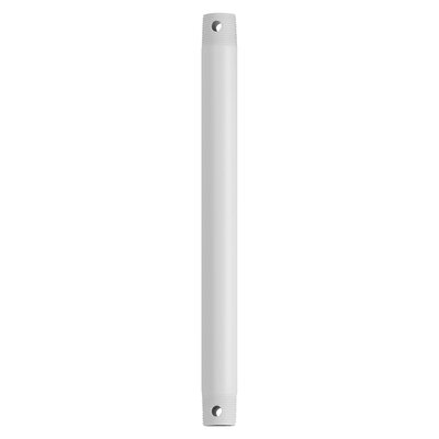 Climates Downrod Size: 12 H x 1 W x 1 D, Finish: White