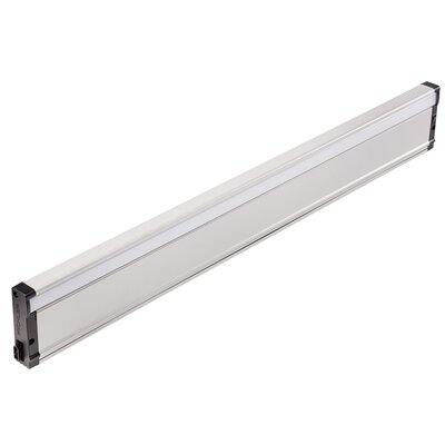 8U Series 3000K LED 30 Under Cabinet Bar Light Finish: Nickel Textured