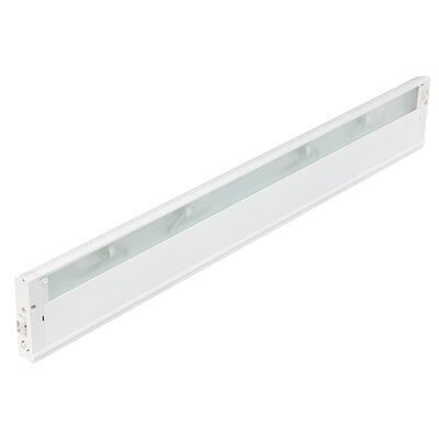4U Series 120V Xenon 30 Under Cabinet Bar Light Finish: Textured White