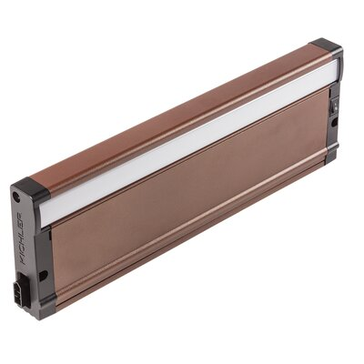8U Series 2700K LED 12 Under Cabinet Bar Light Finish: Bronze Textured
