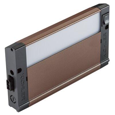 4U Series 2700K LED 8 Under Cabinet Bar Light Finish: Bronze Textured