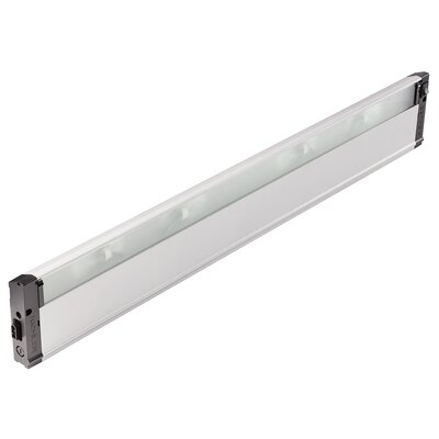 4U Series 12V Xenon 30 Under Cabinet Bar Light Finish: Nickel Textured