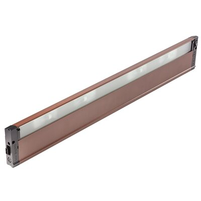 4U Series 12V Xenon 30 Under Cabinet Bar Light Finish: Bronze Textured