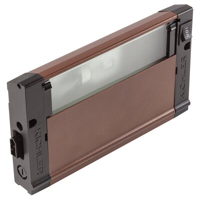 4U Series 12V Xenon 8 Under Cabinet Bar Light Finish: Bronze Textured