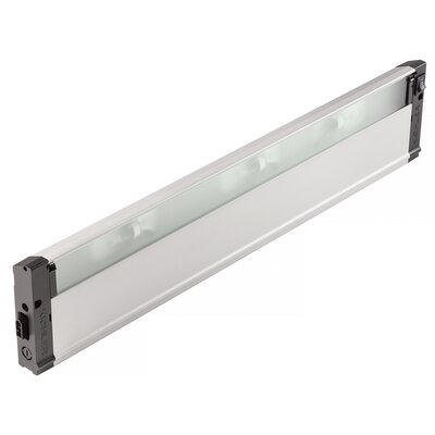 4U Series 12V Xenon 22 Under Cabinet Bar Light Finish: Nickel Textured