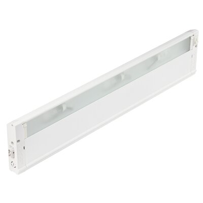 4U Series 120V  Xenon 22 Under Cabinet Bar Light Finish: Textured White