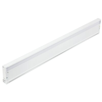8U Series 3000K LED 30 Under Cabinet Bar Light Finish: Textured White