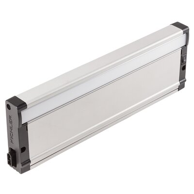 8U Series 2700K LED 12 Under Cabinet Bar Light Finish: Nickel Textured