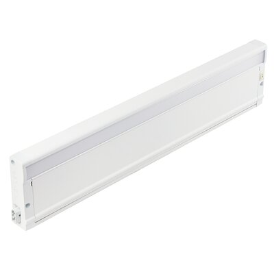8U Series 3000K LED 18 Under Cabinet Bar Light Finish: Textured White