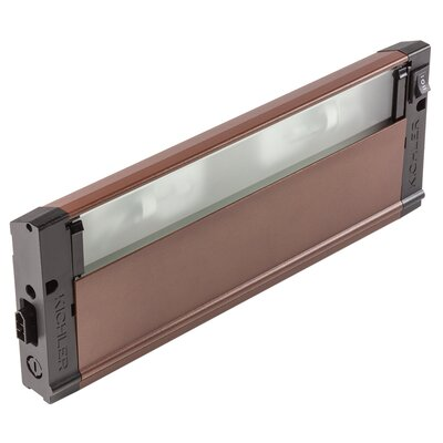 4U Series 12V Xenon 12 Under Cabinet Bar Light Finish: Bronze Textured