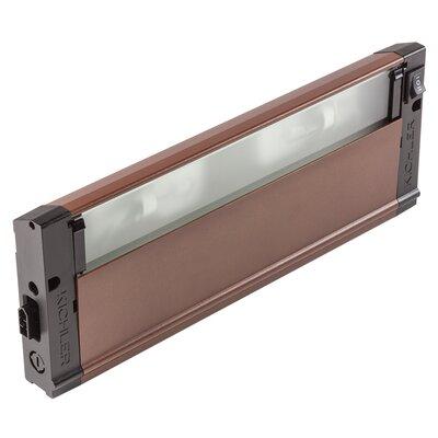 4U Series 120V Xenon 12 Under Cabinet Bar Light Finish: Bronze Textured