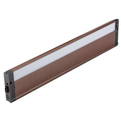4U Series 2700K LED 22 Under Cabinet Bar Light Finish: Bronze Textured