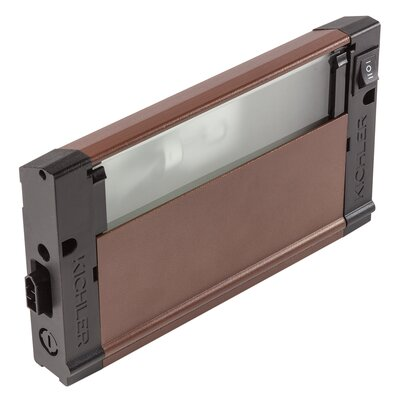 4U Series 120V Xenon 8 Under Cabinet Bar Light Finish: Bronze Textured
