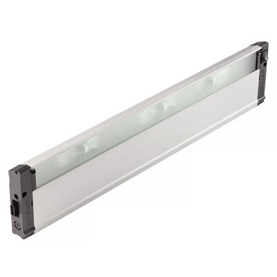 4U Series 120V  Xenon 22 Under Cabinet Bar Light Finish: Nickel Textured