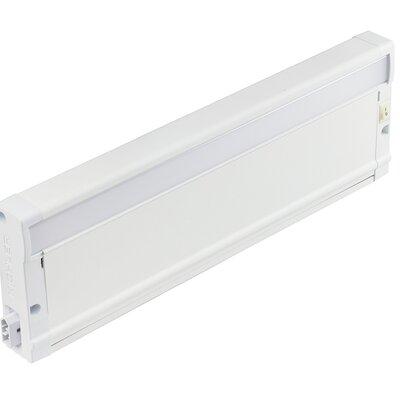 8U Series 2700K LED 12 Under Cabinet Bar Light Finish: Textured White