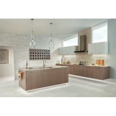 8U Series 3000K LED 12 Under Cabinet Bar Light Finish: Textured White