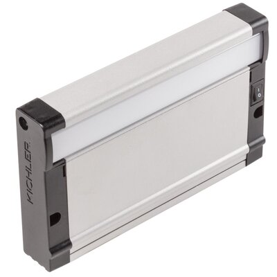 8U Series LED Undercabinet Ballast Finish: Nickel Textured