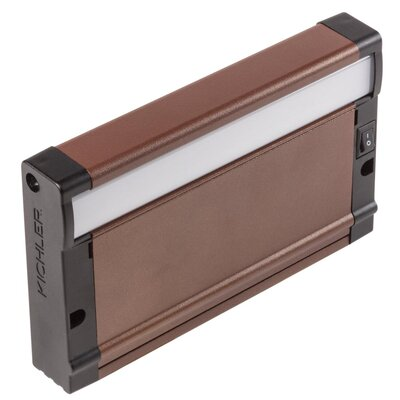 8U Series LED Undercabinet Ballast Finish: Bronze Textured