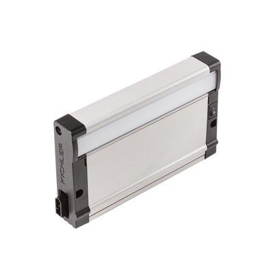 8U Series LED Undercabinet Ballast Finish: Nickel Textured