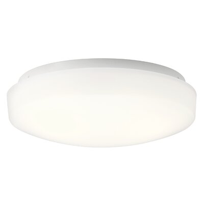 Shuster 1-Light LED Flush Mount Size: 3.75 H x 10.75 W x 3.75 D