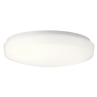 Shuster 1-Light LED Flush Mount Size: 3.75 H x 13.5 W x 3.75 D