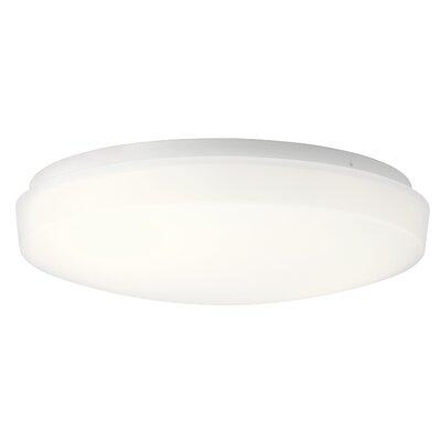 Shuster 1-Light LED Flush Mount Size: 3.75 H x 13.5 W x 3.75 D
