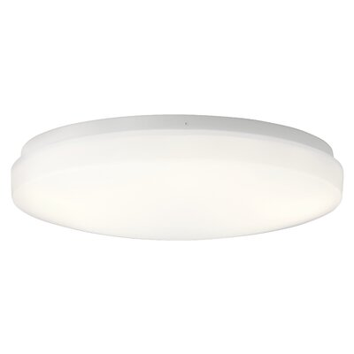 Shuster 1-Light LED Flush Mount Size: 3.75 H x 16 W x 3.75 D