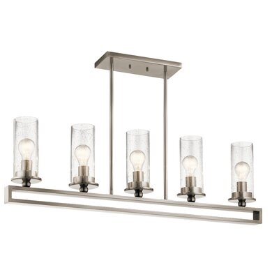 Turner 5 Light Candle Style Chandelier