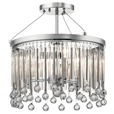 Malvern 3-Light Drum Chandelier