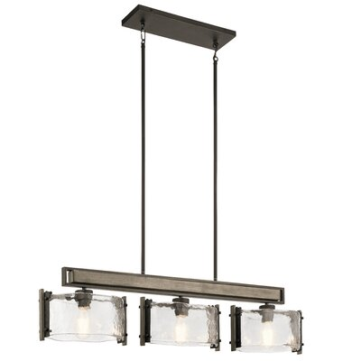 Pelle 3-Light Drum Chandelier