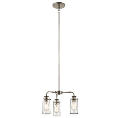 Olle 3-Light Semi Flush