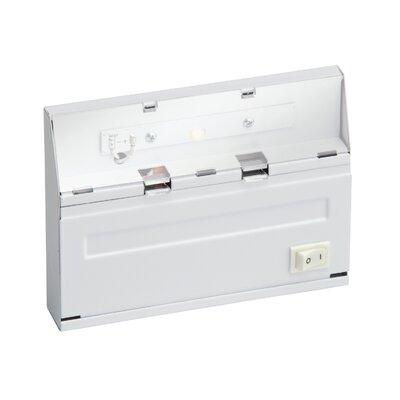 Direct Wire 6 LED Under Cabinet Bar Light Finish: White