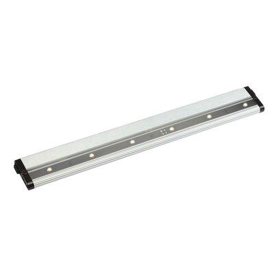 Modular 18 LED Under Cabinet Bar Light Finish: Brushed Nickel, Bulb Type: LED