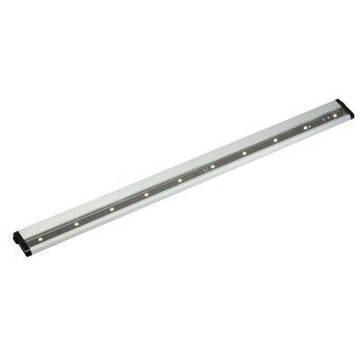 Modular 30 LED Under Cabinet Bar Light Finish: Brushed Nickel, Bulb Type: LED