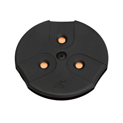 Modular LED Under Cabinet Puck Light Finish: Black, Bulb Type: LED