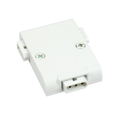 Modular LED T Power Connect Finish: White
