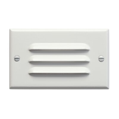 Step and Hall 2.75 Interior Horizon Step Light Finish: White