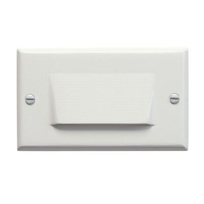 Step and Hall 4.5 Interior Shield Step Light Finish: White