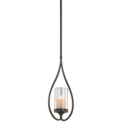 Lara 1-Light Mini Pendant Finish: Shadow Bronze
