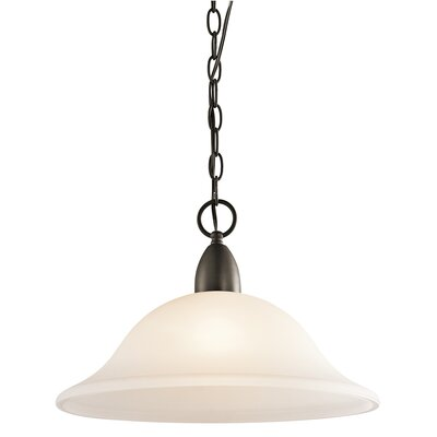 Ledbetter 1-Light Bowl Pendant Finish: Olde Bronze
